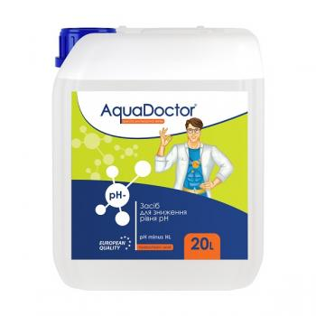 Хімія для басейну: AquaDoctor pH Minus HL рідина (соляна 14%)