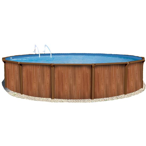 b6d6c49fda5e6 Сборные Бассейны Atlantic Pools: Круглый бассейн Atlantic Pools Esprit-Wood