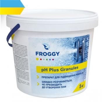 Химия для бассейна: Froggy pH Plus Гранулы