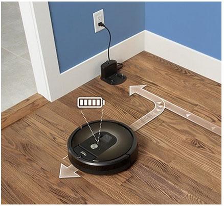 Автоматическая подзарядка roomba 980