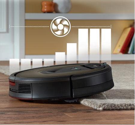 Roomba 980 чистит ковры
