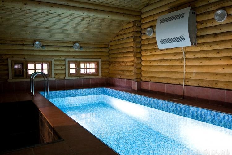 Осушение воздуха в бассейне