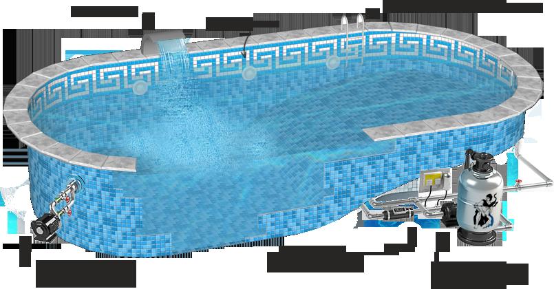 Надежное и современное оборудование для бассейнов